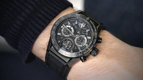 El reloj modular de Tag Heuer se presentará el 14 de marzo