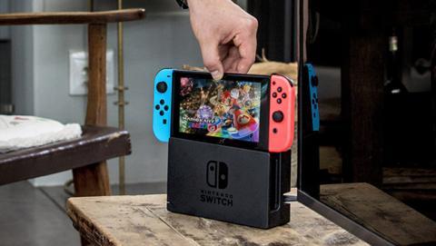 Nintendo Switch es el estreno de consola más exitoso en España