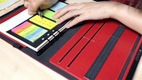Lockbook, el primer cuaderno con reconocimiento de huella