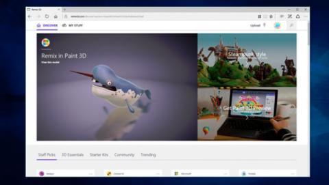 Remix 3D es la nueva plataforma de contenido en 3D de Microsoft