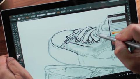 Paint 3D hace más sencillo el uso de un lápiz digital