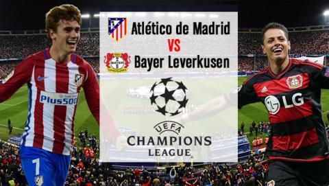 Cómo ver online en directo el Atlético de Madrid vs Bayer Leverkusen de Champions