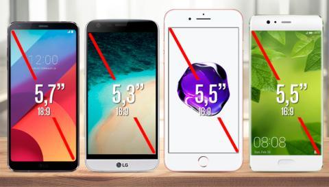 Comparativa LG G6 LG G5 P10