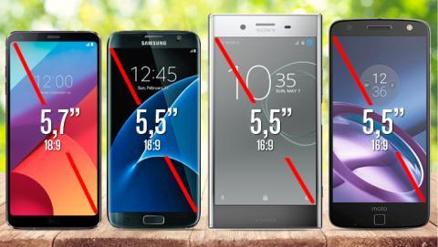 Comparativa LG G6
