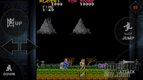 Ghosts'n Goblings para móviles