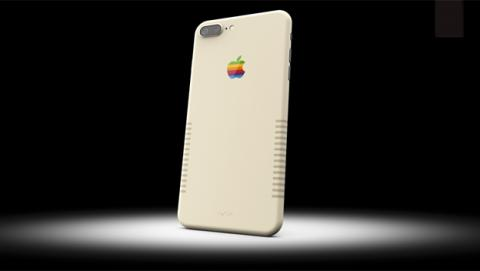 Este iPhone 7 Plus con diseño de Macintosh es de ColorWare