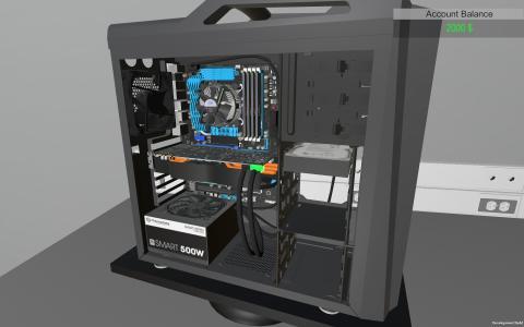 PC Building Simulator, un videojuego sobre montar ordenadores