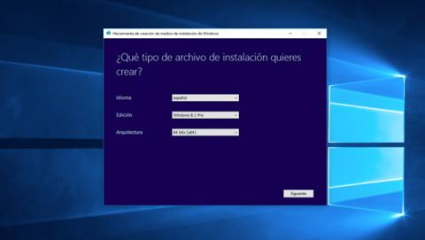 descarga y creación del archivo ISO de Windows 8.1