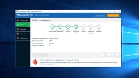 Antivirus, anti-malware o suites de seguridad