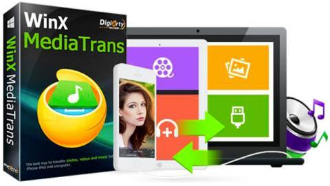 Consigue gratis WinX MediaTrans y elimina el DRM de iTunes