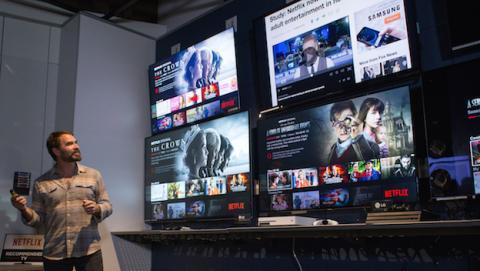 netflix recomienda televisión