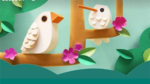 Ya puedes felicitar la primavera en Facebook