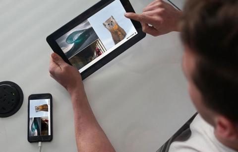 Superscreen convierte la pantalla de tu móvil en una tablet