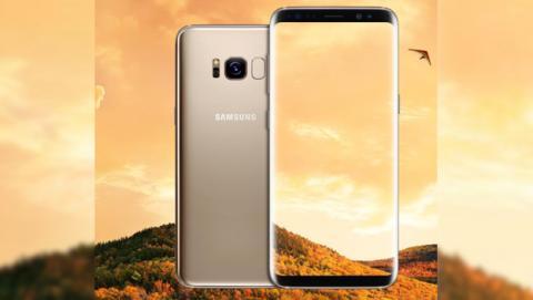 La imagen filtrada del Samsung Galaxy S8 en dorado