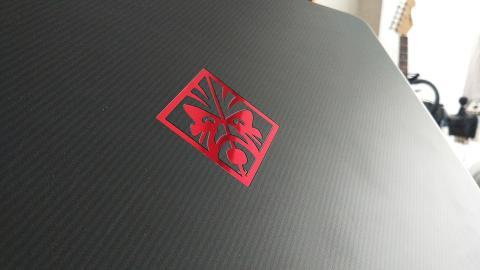 Logotipo del HP Omen 17