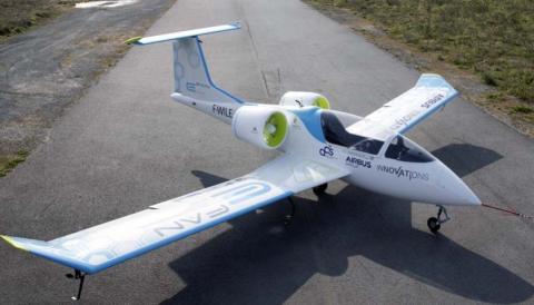 Llega el avión eléctrico que recorre 480 km sin combustible