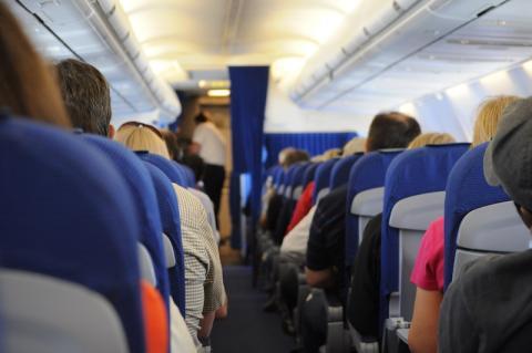 Los objetos prohibidos en el equipaje de un avión