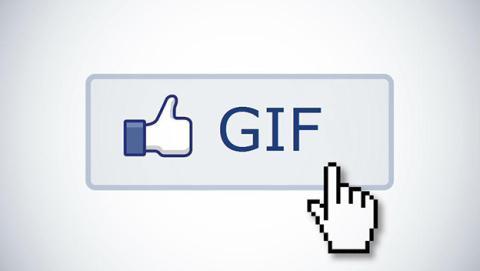 Facebook prueba los GIFs con un botón en los comentarios
