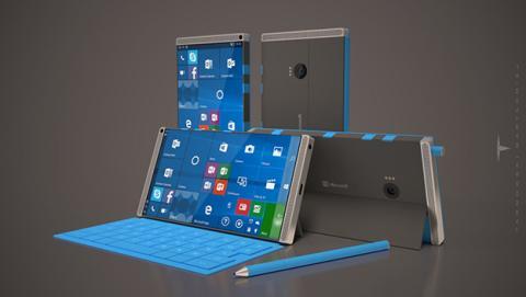 Microsoft piensa hacer plegable un futuro Surface Phone