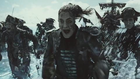 Javier Bardem, estrella del nuevo trailer de Piratas del Caribe 5