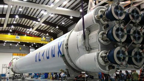 SpaceX va a utilizar de nuevo el Falcon 9, el primer cohete espacial reciclado.