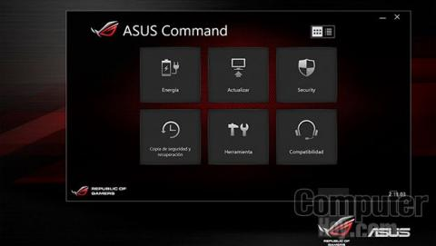 Software de monitorización de Asus