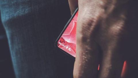 El móvil del padre de Android