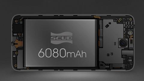 Oukitel K6000 Plus muestra su sistema de carga rápida