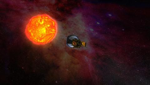 nasa nave espacial sol
