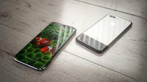El iPhone 8 conceptual, tanto por delante como por detrás