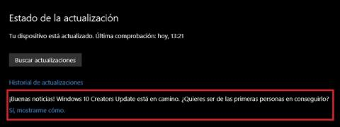 Descargar Windows 10 Creators Update antes que nadie