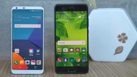 Comparativa Huawei P10 Plus vs LG G6, ¿qué móvil comprar?