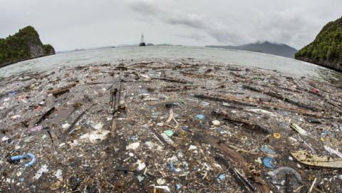 basura oceano