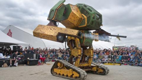 La batalla de los robots gigantes: EEUU frente a Japón
