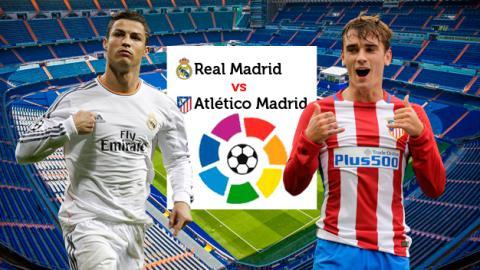 Real Madrid - Atlético de MAdrid LIga Santander Abril