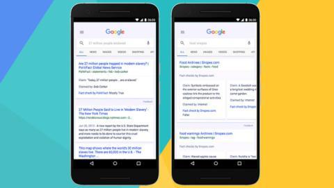 Novedades en el buscador de Google para luchar contra las fake news.