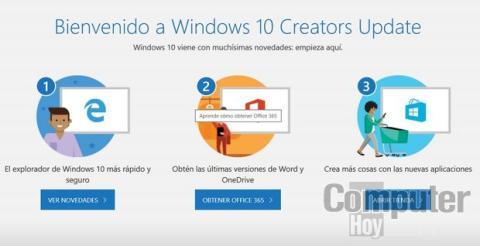 Cómo instalar Windows 10 Creators Update ahora mismo, paso a paso