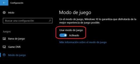 El Modo Juego y las novedades gaming de Windows 10 Creators Update
