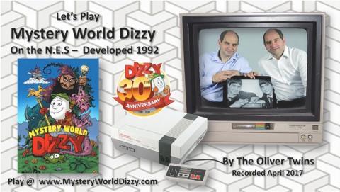 El juego de NES Mystery World Dizzy se lanza 24 años después