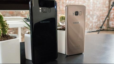 Cámara del Galaxy S8.