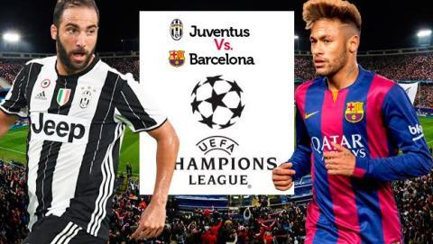 Cómo ver online en directo el Juventus vs Barcelona de Champions League en streaming