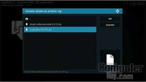Instalar Add-ons en Kodi desde archivos externos