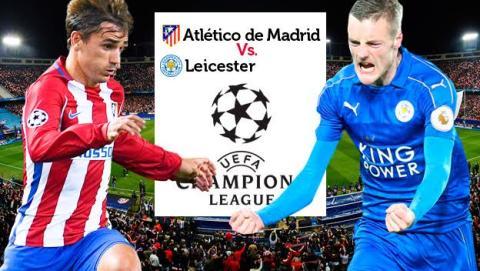 Cómo ver en directo online el Atlético de Madrid vs Leicester de Champions en streaming