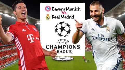 Cómo ver en directo online el Bayern Munich vs Real Madrid