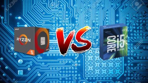 Comparativa de precio para comprobar si es más barato el procesador AMD Ryzen 5 o el Intel Core i5.