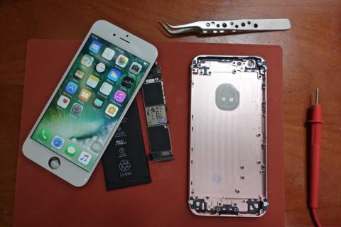 Así es el iPhone 6s construido por piezas de Scotty Allen