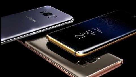 Ya puedes reservar el Samsung Galaxy S8 con marcos de oro