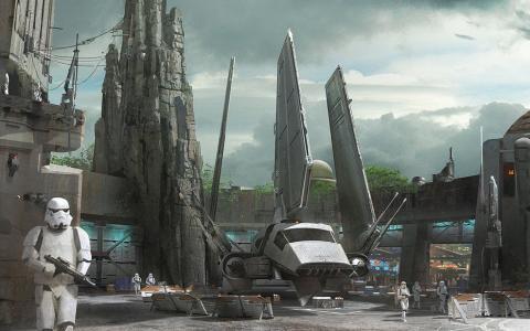 Nuevos detalles de Star Wars Land