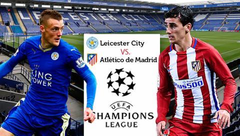 Cómo ver online en directo el Leicester City vs Atlético de Madrid de la Champions League