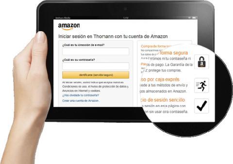 Así podrás pagar con tu cuenta de Amazon en otras tiendas